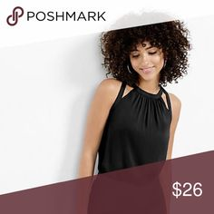🌸SALE🌸 Cut-Out Shoulder Tank Cut-out shoulders that drapes with soft knit for the ease and comfort. (SALE: $26 -> $22 Until July 26) Express Tops Blouses