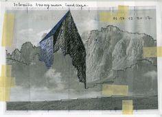 Beniamino Servino. Dolomitic Anonymous Landscape.