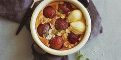 6 enkle juleretter til julebordet Egg Benedict, Scampi, Creme Fraiche, Slow Food, Granola, Acai Bowl, Food And Drink, Eggs, Banana