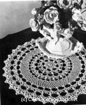 Crochet Honeysuckle Doily - Old and New Favorites By Request - Coat's & Clark's Book No. 148 1964