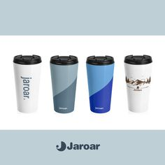 Our new travel mugs are in the store! These stainless steel mugs will keep drinks at the right temperature for hours on the go. Stainless Steel Travel Mug, Stainless Steel Water Bottle, New Travel, Travel Mugs, North Miami Beach, Can Holders, Go Outdoors, Enjoy Your Life, Green Nature