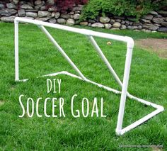 Painted Therapy: DIY Soccer Goal