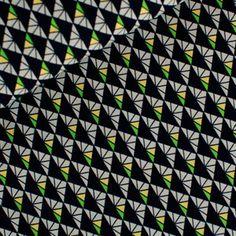 Stoff Geometrisch: Diamond - tief dunkelblau - schöner,  weicher Stoff aus gekämmter Baumwolle, Popeline von rauffaser auf Etsy