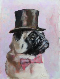 Herbert Pug Art