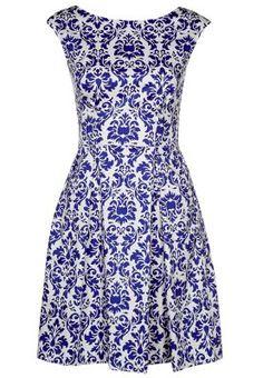 Closet Sommerkleid - blau/weiß