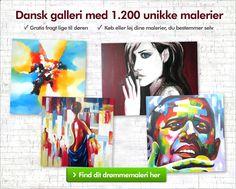 → Malerier online ← Både køb og leje! - Last Touch