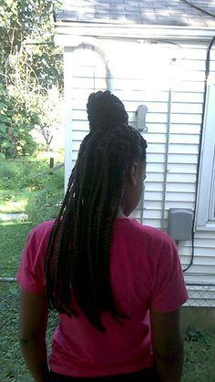Box braids...