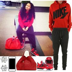 Nike Swag, created by blasianmami16 on Polyvore