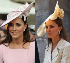 Graciella Starling   Os chapéus e fascinators favoritos de Kate Middleton