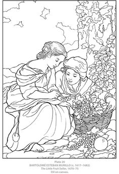 Welcome to Dover Publications  Dover Masterworks: Color Your Own Spanish Masters Paintings