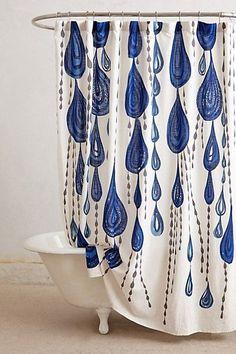 Anthropologie Shower Curtain from eBay