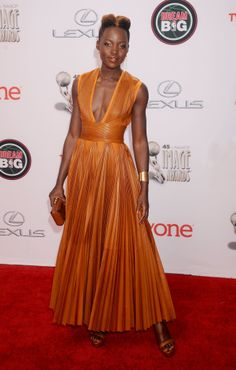"images of gowns worn by lupita | Tracy Reese says: ""Certainly Lupita Nyong'o. She is such an incredible ..."