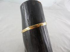 "Vintage Monet Gold Tone Herringbone Chain Bracelet 6.5"" long by Dockb30Crafts on Etsy"