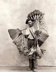 Marc Ferrez: Vassoureiro, Rio de Janeiro, 1895