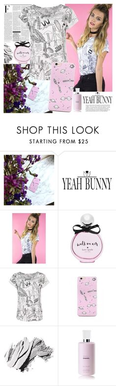 """""""YEAH BUNNY"""" by gaby-mil ❤ liked on Polyvore featuring Nicki Minaj, Kate Spade, Bobbi Brown Cosmetics, Whiteley, iphone and case"""