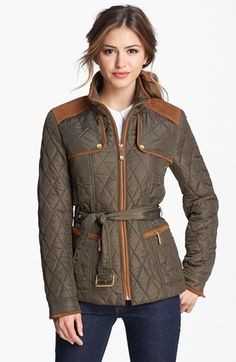 Vince Camuto Quilted Field Jacket