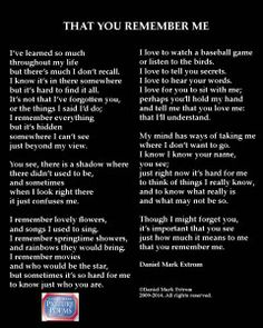 That You Remember Me: Alzheimer's & Dementia : Daniel Mark Picture Poems Alzheimers Quotes, Dementia Quotes, Dementia Care, Alzheimer's And Dementia, Grief Poems, Alzheimers Awareness, Dementia Activities, Elderly Activities, Aging Parents