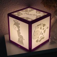 Something we liked from Instagram! Aquí tenéis la #instalamp que ganó María en el sorteo que realizamos en facebook en el mes de #agosto.  El #diseño es perfecto para una #habitación #infantil.  Si tu quieres la tuya propia #personalizada ponte en contacto con nosotros.  #lafragua3d #3dprinter #3dprinting #3dprint #morado #purple #animals #cartoons #ilumination #light #decoration #kids #present #customized #stars #name #baby #newborn #decoracion by lafragua3d check us out…