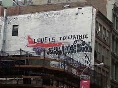 Love is telepathic,  Broadway NYC condos imminent
