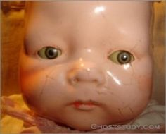 Ben writes, This doll was recently for sale on eBay. The auction stated that the doll was given to a young girl in the hospital before she died. After the death of the girl the doll began to take on a life of its own. Some of the activity was beginning to scare the family until they finally gave it away. The ne