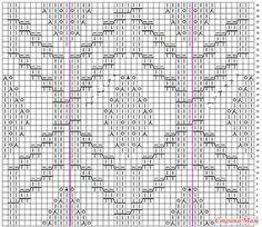 Доброго дня Страномамочки! Хочу поделиться парочкой узоров с инета со схемами...