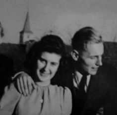 Erich Hartmann and his wife