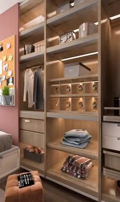 Bedroom Closet Design, Bedroom Furniture Design, Girl Bedroom Designs, Home Room Design, Closet Designs, Home Interior Design, Pinterest Room Decor, Home Decor Boxes, Bed In Closet
