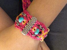 Princess multi purpose Bracelet Necklace Hair-tie/band macrame Jewellery.