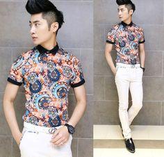 fancy man shirt called?   ... Design-b-font-Shirt-Tribal-Print-Slim-Man-Stylish-Fancy-Shirts.jpg