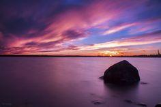 Sunset in Vaasa by m-eralp.deviantart.com