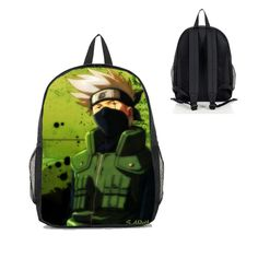 Dreamcosplay Anime Naruto Hatake Kakashi Backpack Student Bag Cosplay * For more information, visit image link.