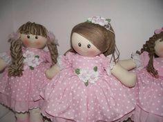 Festa boneca de pano | Bonecas de Pano Tia Nu | Elo7