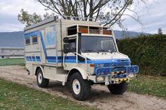 Le camping-car Passe partout: Unimog