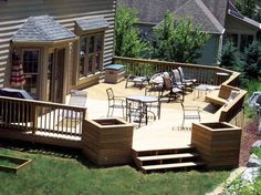 Simple Backyard Deck Designs 20 timber decking designs that can append beauty of your homes Image From Httpfindoonetwp Contentuploads