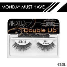 462b1ceb3e6 Add some fullness and flare to your eyes with Ardell Double Up #204 lashes!