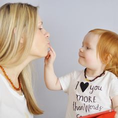 For love! :) More Baby & Mom beads you will find www.cozyamber.eu