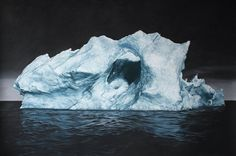 I Sublimi Icebergs di Zaria Forman