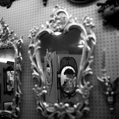 Wow! With all the mirrors she took this of herself! - Vivian Maier's Amazing Street Photos