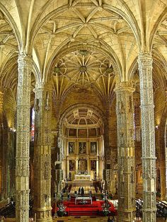 Mosteiro dos Jerónimos - Lisboa (Portugal) by Portuguese_eyes, via Flickr
