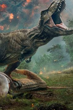 Any parent with a few dinosaur-obsessed kids milling around is already well-aware that Jurassic World: Fallen Kingdom is hitting theaters on June And for Jurassic World 3, Jurassic Park 1993, Jurassic World Fallen Kingdom, Bryce Dallas Howard, The Good Dinosaur, Dinosaur Art, Chris Pratt, Jurassic World Wallpaper, Dinosaur Background