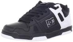 DC Men's Stag Sneaker,Black/Black/White,7 M  - : $21.00 at amazon.com