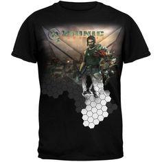 Bionic Commando - City Scape T-Shirt