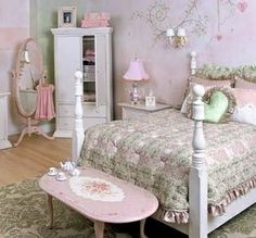 shabby chic bedroom idea - myshabbychicdecor... - #shabby_chic #home_decor #design #ideas #wedding #living_room #bedroom #bathroom #kithcen #shabby_chic_furniture #interior interior_design #vintage #rustic_decor #white #pastel #pink