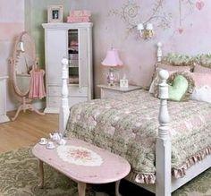 shabby chic bedroom idea - myshabbychicdecor... - #shabby_chic #home_decor #design #ideas #wedding #living_room #bedroom #bathroom #kithcen #shabby_chic_furniture #interior interior_design #vintage #rustic_decor #white #pastel #pink
