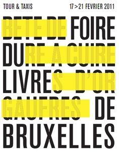 2011 foire du livre de Bruxelles