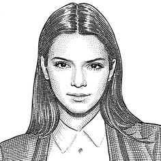 First, Taylor Swift weighed in on the future of music. Now, the Wall Street Journal has invited model-of-the-moment Kendall Jenner to be its new columnist. Well, kind of. Some people wait a lifetime to be asked to contribute to the esteemed paper,… Kendall Jenner, Bruce Jenner, Kris Jenner, Wsj Magazine, Stippling Art, Daily Front Row, Reality Tv Stars, Cartoon Sketches, Art Sketches