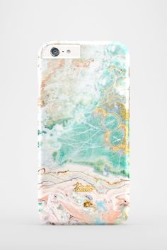 Candy / Fashionable designed iPhone Pastel Marble Case