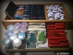 Organizing stamps