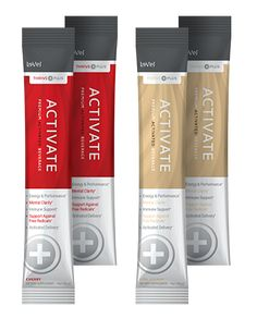 THRIVE Plus Activate - Thrive Activate Supplement - Activate is designed to activate your core, while supporting clean healthy energy, clarity, and performance.