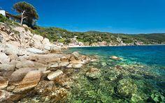 Forno, on the Biodola Bay, Elba island.